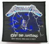 Metallica - 'Ride the Lightning' Woven Patch